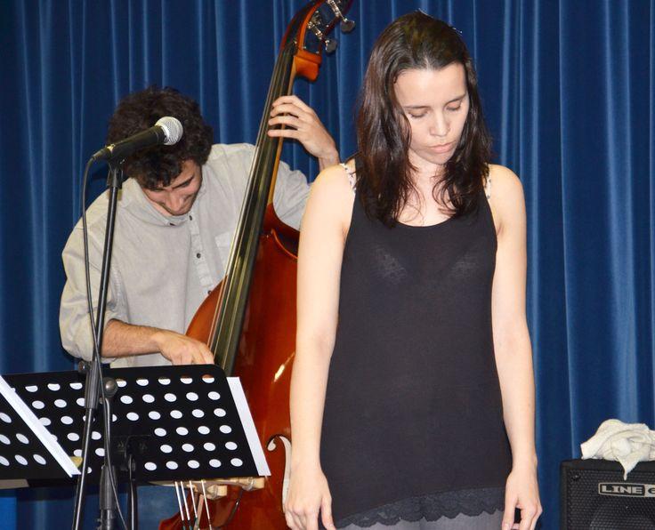 Recital de Sónia Filipa Jerónimo Oliveira. (Fotografia de Ruben Moreira Rodrigues, 2014)