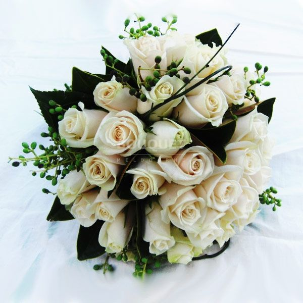 Wedding Bouquets Melbourne: 66 Best White & Cream Wedding Bouquets Images On Pinterest