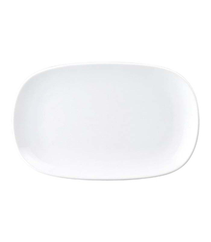 "Royal Porcelain ""Chelsea"" Coupe Rectangular Platter - 215mm"
