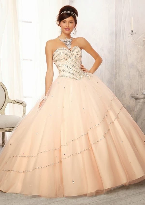 vestido de 15 años - Coleccion Vizcaya 2014