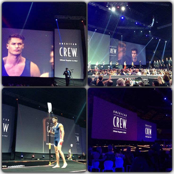 Amazing American Crew show Lisbon Portugal 2014.