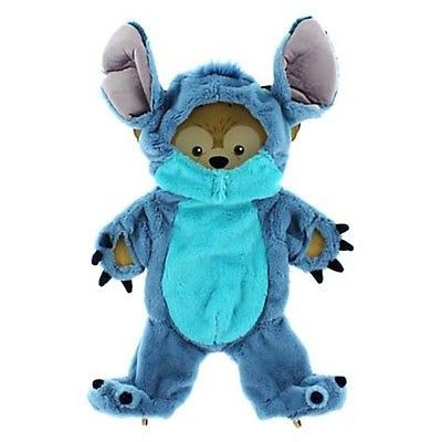 "disney parks stitch costume outfit for duffy the disney bear 17"" new"