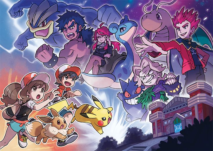 Each member of the Elite Four awaiting you at the Pokémon League is a tough and powerful opponent. Work together with your partner Pokémon if you want to stand a chance against them! Pokémon: Let's Go, Pikachu! and Pokémon: Let's Go, Eevee! are available now. Pikachu Pikachu, Pokemon Mew, Type Pokemon, Pokemon Foto, Fotos Do Pokemon, Pokemon Rouge, Pokemon Stuff, Pokemon Comics, Coaches