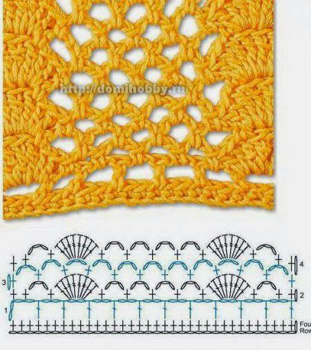 Renovarte es vivir! una nueva colección de puntos o puntadas para tejer con crochet,  con sus respectivas muestras y esquemas para que pueda...