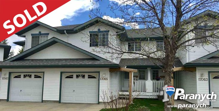 We SOLD 17065 113 ST! Thinking of selling your Edmonton home? Call 780-457-4777 or visit Paranych.com for your Free Home Evaluation today!