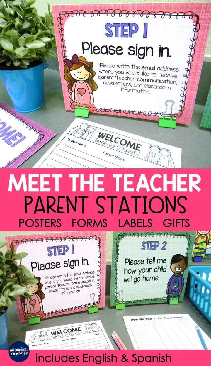 Manage Meet the Teacher Night with ease using the parent