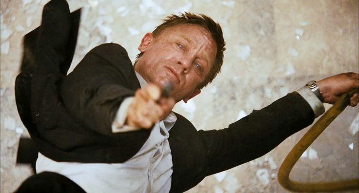 Daniel Craig as James Bond in Quantum of Solace (2008)