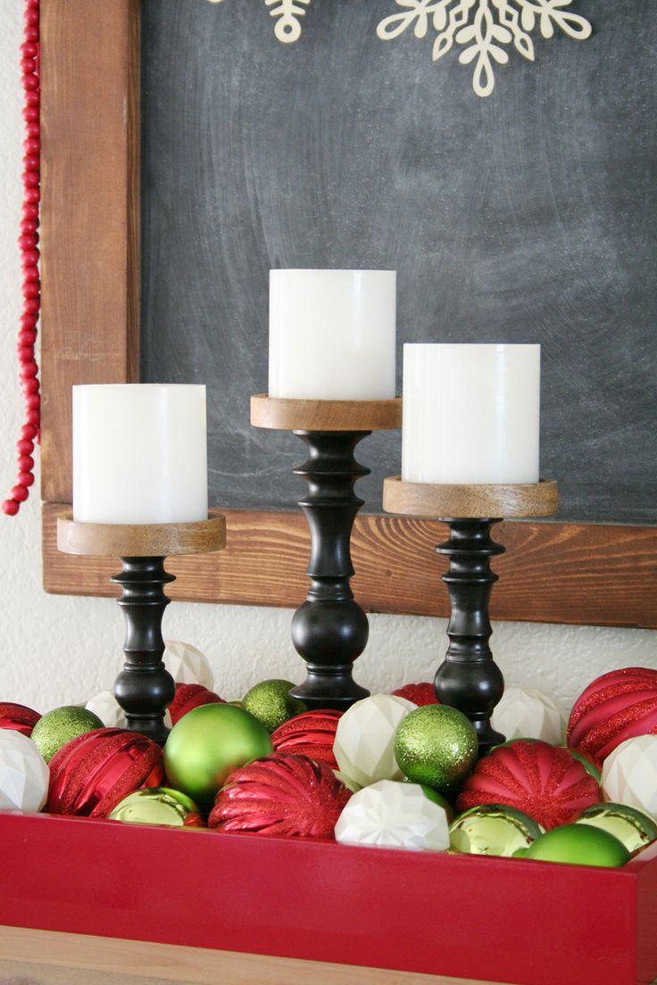 Как добавить современный и свежий обновления на красный и зеленый Рождественский декор - Узнайте, блог по мировой рынок