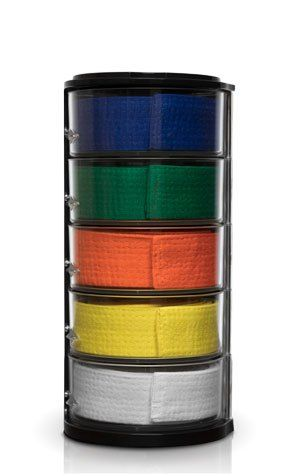 Martial Arts Belts Display from ELYPRO