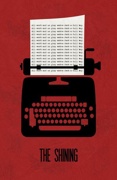 The Shining - Minimalist Poster 01 Art Print