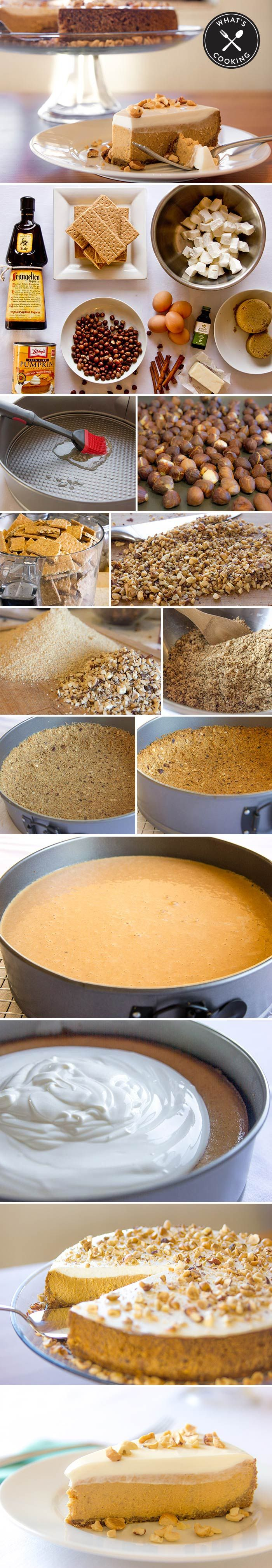 Delicious! Nordstrom's Pumpkin Cheesecake Recipe