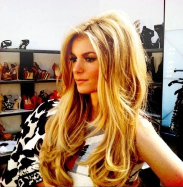 Marissa Miller best VS model with the best hair.