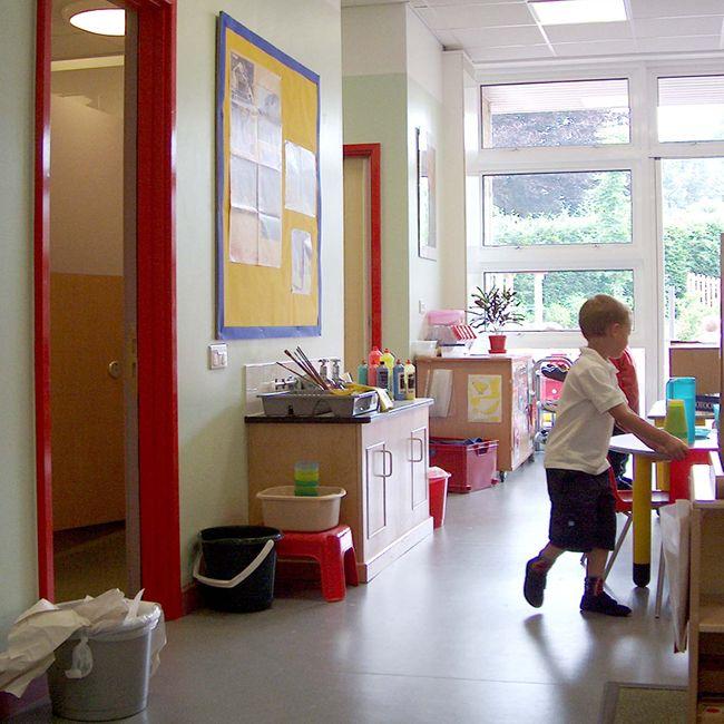 Childrens Learning Area Homelands Primary School Devon England Interior Design