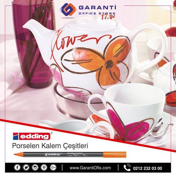 Edding Porselen Kalemleri en uygun fiyat ve taksit imkanları ile online satın alabilirsiniz.  #porselenkalemi #edding4200 #edding #garantiofis