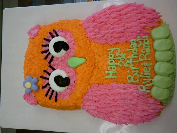 Jess Pearl Liu Clary Owl Cake Girl Birthday Cakes Pinterest