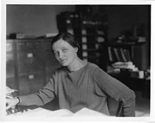 Cecilia Helena Payne-Gaposchkin (1900 – 1979) was a British-American astronomer and astrophysicist who, in 1925, proposed in her Ph.D. thesis an explanation for the composition of stars in terms of the relative abundances of hydrogen and helium.
