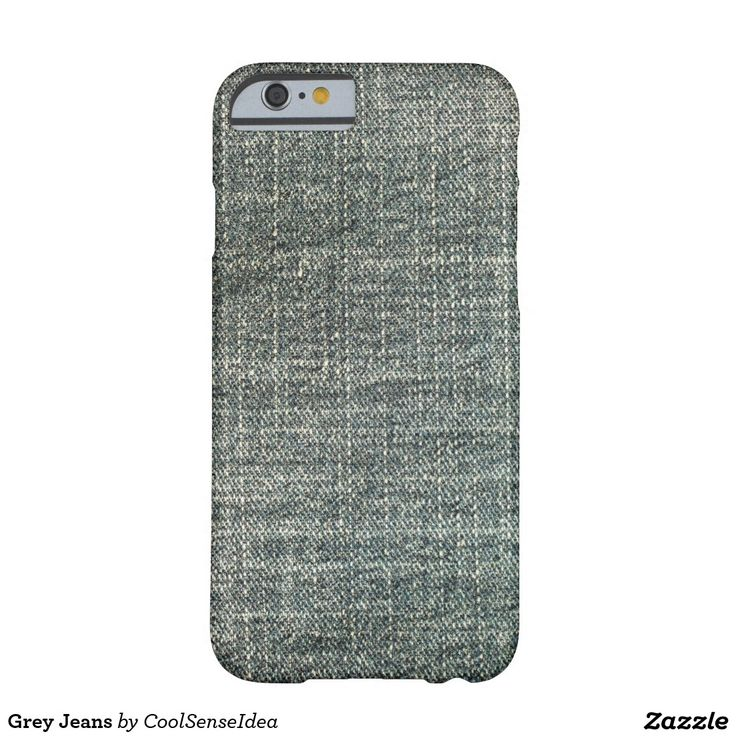 Grey Jeans Barely There iPhone 6 Case