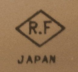 R.F - Trade Mark - Fukuda Japan Fukuda Seisakusho Tokyo Japan. Founded 1947