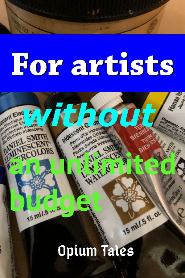 Budgeting Watercolor Most Important Expenditures In Watercolor