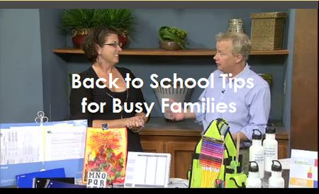 Back to School Tips from Krista Colvin, Organized Lifestyle Expert