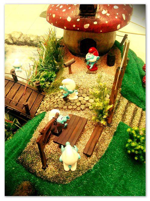 Gnome Garden: Smurfs Village