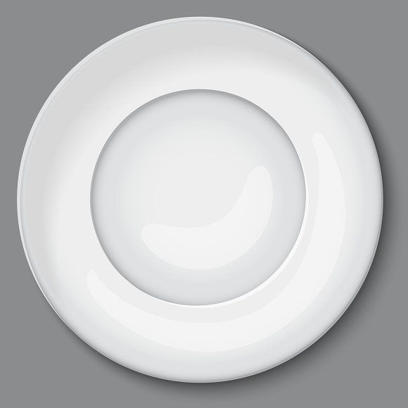 Empty White Plate Plates White Plates Objects Design