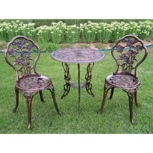 35 best bistro sets images on pinterest bistro set 3 piece and oakland living rose 3 piece patio bistro table set watchthetrailerfo