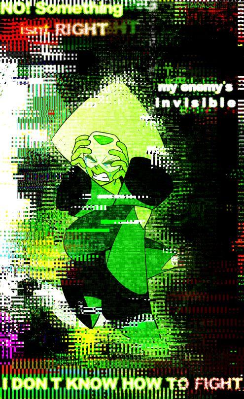 E C H O I N T H E M I R R O R, Steven Universe Peridot