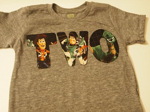 Toy Story Characters Shirt Woody Rex Jessie Buzz Lightyear Toy Story Birthday tee Organic Blend. $26.00, via Etsy.