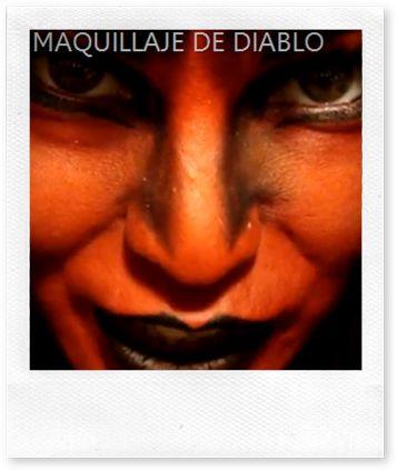 idisfraz, ideas para tu disfraz: maquillaje de diablo