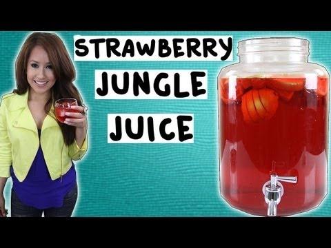 Under $30 Strawberry Jungle Juice - Tipsy Bartender