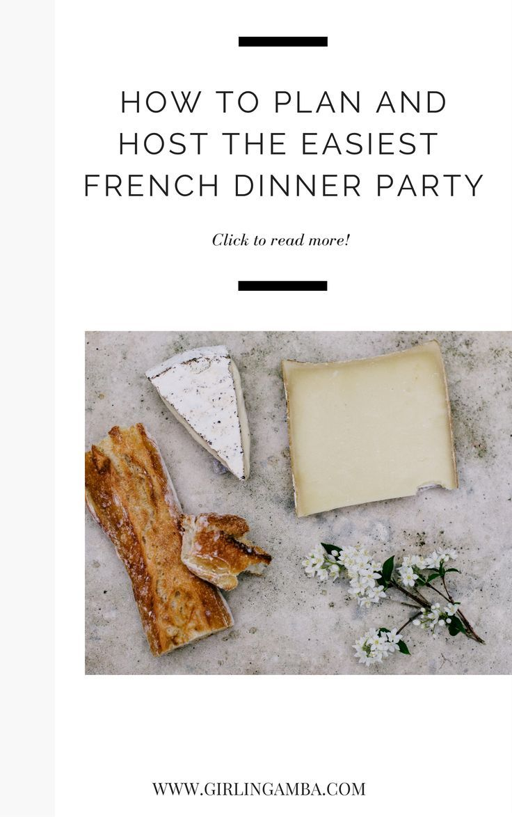 Check out this post on hosting an easy French dinner party! Sometimes it may seem hard to prepare a french dinner party, but this is one of the easiest ways to prepare for a french dinner party. A french dinner party must be effortless! Check out these ti