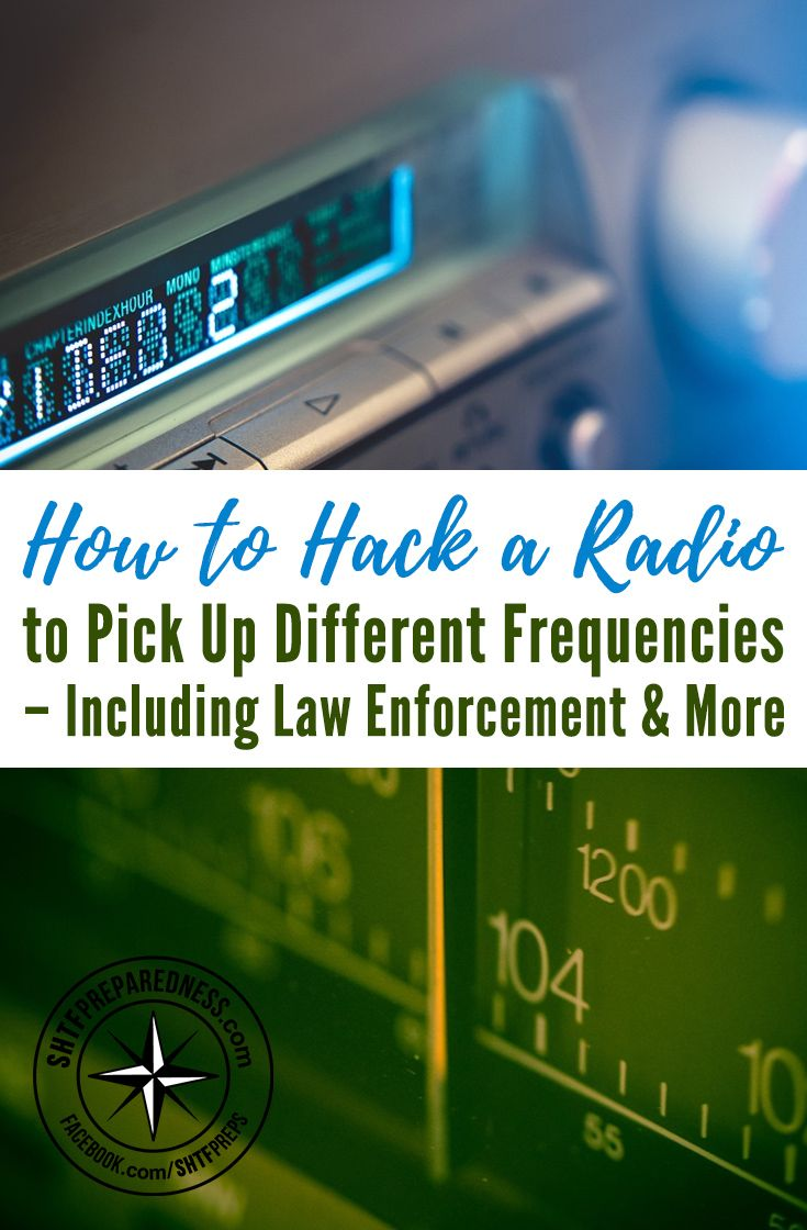 How to Hack a Radio to Pick Up Different Frequencies - The only thing you need for this project is an AM/FM transistor radio, an older model that has a physical adjustment for tuning rather than digital.