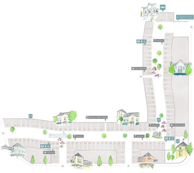 Plan | Localiser Un Magasin • La Vallée Village