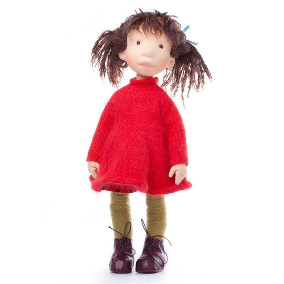 Amazing cloth doll