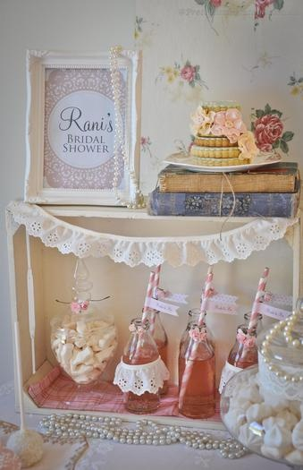 Hostess with the Mostess® - 1950s Vintage Rose Bridal High Tea
