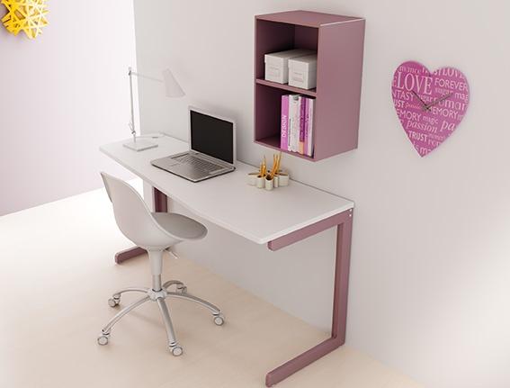 #Arredamento #Cameretta Moretti Compact: Catalogo Start Solutions 2013 >> LH30 #scrivania #mensole http://www.moretticompact.it/start.htm