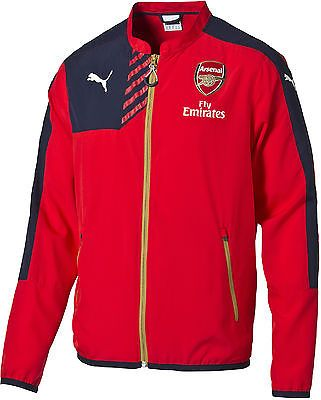 Puma #arsenal 2015/16 #academy junior kids #training jacket top official team - r, View more on the LINK: http://www.zeppy.io/product/gb/2/371500230980/