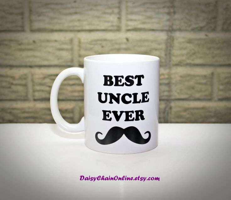 Best Uncle Ever - Best Aunt Ever Coffee Mug - Personalized Mug - Aunt Gift Uncle Gift - Unique Coffee Mugs - Gifts for Uncle, Gifts for Aunt - pinned by pin4etsy.com