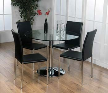 Glass dining room tables and chairsBest 25  Glass dining table set ideas only on Pinterest   Glass  . Glass Dining Room Table Decor. Home Design Ideas