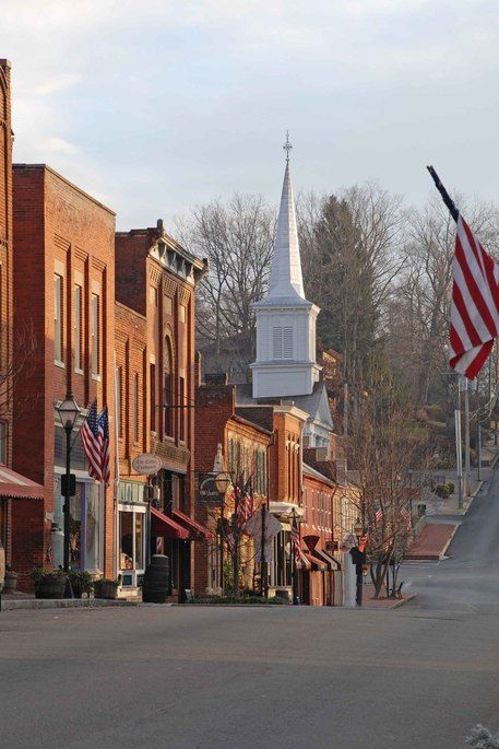Jonesborough, Tennessee - Home of the National Storytelling Festival every first October weekend. We have been going every year since 1982. It's a wonderful weekend of all kinds of stories and happiness.
