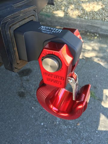 """(MH-H20)  HITCH RECEIVER 2""""  Compatible with Monster  Swivel Hook & Shackle"""
