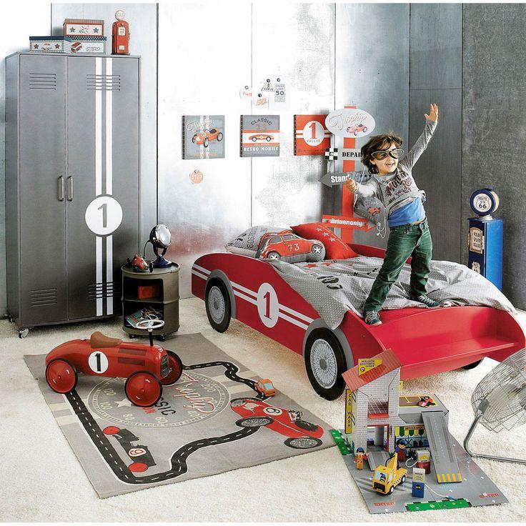 Letto per bambini a forma di auto CIRCUIT