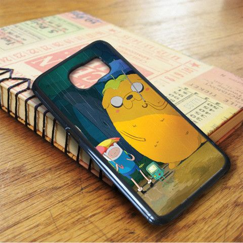Adventure Time Jake And Finn Totoro Samsung Galaxy S7 Case