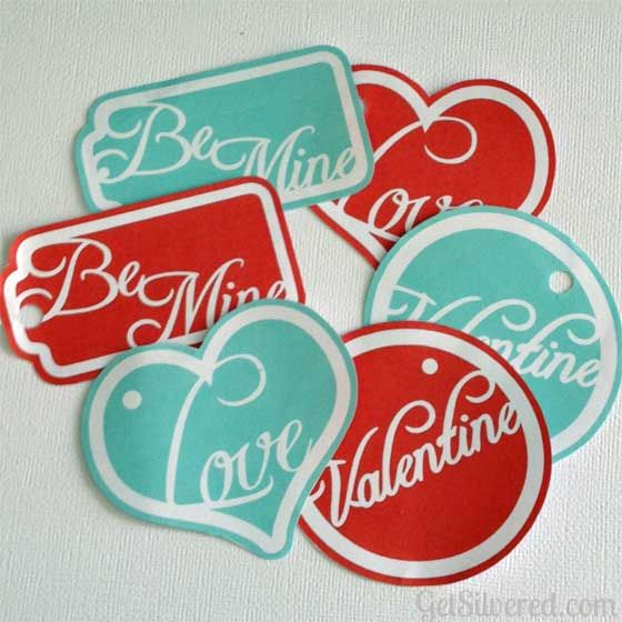 Valentine Gift Tags – Free File Friday with Printable