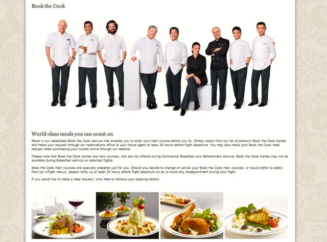 Singapore Airlines Book the Cook Review  #TravelSort