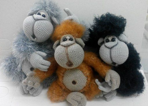 Amigurumi Jungle Animals : 1000+ images about Crochet Jungle Animals on Pinterest ...