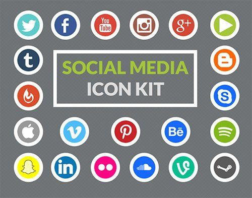 social media iconen 2015 - Google zoeken