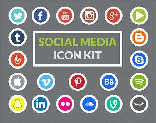 social media iconen 2015 - Google zoeken