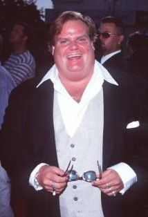 """Chris Farley starred in several films, such as """"Wayne's World,"""" """"Coneheads,"""" and """"Airheads.""""He died of a coke and morphine overdose at the age of 33 in 1997. At the time of his death, he was the original voice chosen for DreamWorks' """"Shrek"""", but died just before recording was finished."""